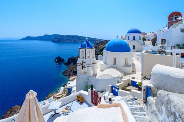 Santorini Study in Greece