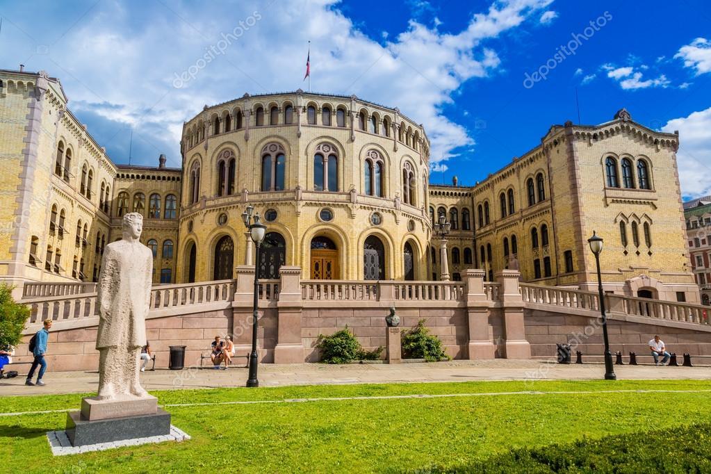 depositphotos 59525595 stock photo norwegian parliament building Study in Norway