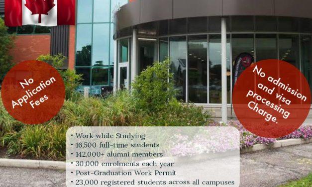 Apply studies in Conestoga College