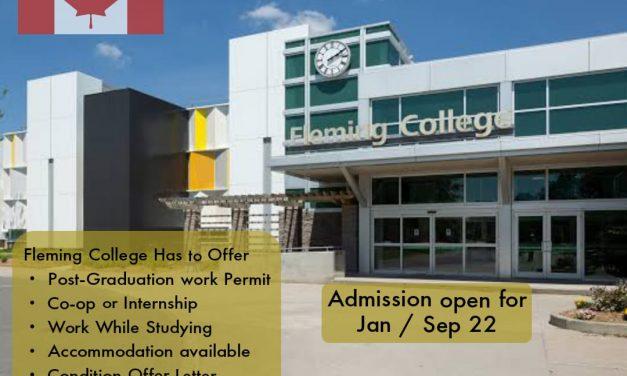 Apply studies in Fleming College