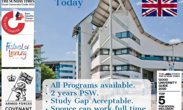 Apply studies in University of East London